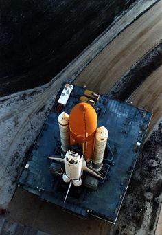 space shuttle launch pad  l  5:11am