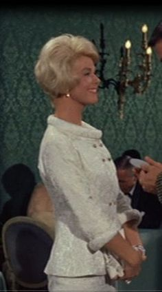 Doris Day  in Lover Come Back. How elegant and feminine! Why don't we still dress like this?