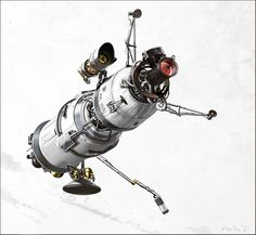 Create a Technical Illustration for a Futuristic Military Satellite - Tuts+ Design & Illustration Tutorial