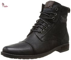 Levi's Maine, Sneakers Hautes homme, Noir (Black 59), 42 EU (8 UK) - Chaussures levis (*Partner-Link)