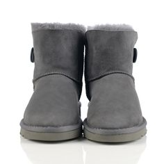 UGG Boots On Sale Mini Bailey Button 3352 Grey - UGGS Clearance,All UGG Boots are Save Up to 70% Clearance Sale!