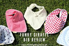 Funky Giraffe Bibs | Review