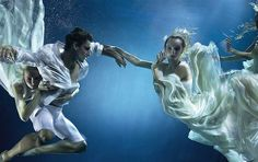 Underwater photography for How to Spend it magazine