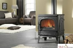 Drugasar DRU 64MF Multifuel Stove is a DRU multi-fuel Stoves can burn wooden logs, Coal, coke, brown Coal or anthracite. They are built using the strongest Norwegian cast iron and are designed to withstand Scandinavian-style winters, when the Stove burns all day, every day. This stove is safe for people and also the environment!