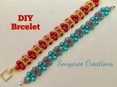 Quick and Easy beaded bracelet - YouTube