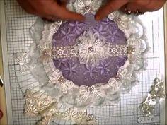 Gorgeous Elegant Shabby Chic Cushion - jennings644