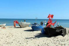 Fischerboote malen auf Rügen | Fischerboote am Strand von Baabe (c) Frank Koebsch