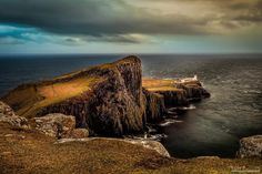 Dramatic Landscapes on the Isle of Skye in Scotland