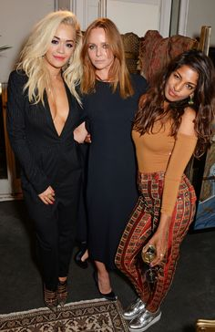 Stella McCartney has reinforced her commitment to sustainability by partnering with Livia Firth's Eco-Age for the launch of the 2014 London Stella McCartney Green Carpet Collection at London Fashion Week.