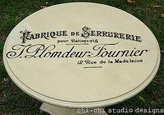 How to Transfer Typography onto Furniture