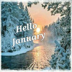 Hello December Images, Hello January Quotes, December Pictures, Hello November, January 2018, December Wallpaper, Calendar Wallpaper, Hello Kitty Christmas, Fb Cover Photos