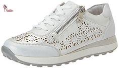Rieker Kinder K2800, Sneakers Basses Fille, Blanc (Ice/Ice / 81), 38 EU - Chaussures rieker (*Partner-Link)