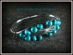 Genuine Turquoise Bracelet Handmade. Starting at $9 on Tophatter.com!