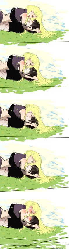 Ino and Sai - This is just TOO CUTE!!! I can't take this anymore ,I think I have a heart attack!! ♥♥*---*