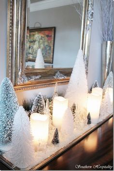 30 Sparkling Gold and Silver Christmas Decorations | Decorating for on