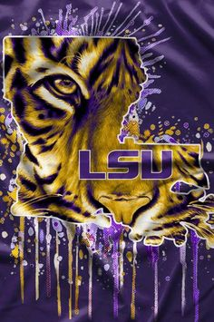 Discover recipes, home ideas, style inspiration and other ideas to try. Louisiana Art, Louisiana State University, Lsu Tigers Baseball, Tiger Wallpaper, New Orleans Saints Football, Tiger Art, Football Wallpaper, Blog, Nfl
