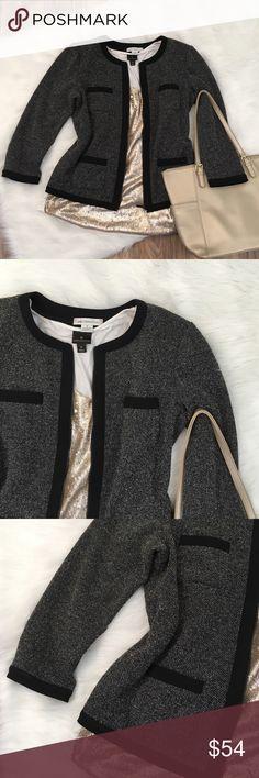 Liz Claiborne Tweed Moro Jacket Jackets: EUC - Liz Claiborne Liz Claiborne Jackets & Coats