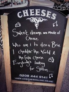 How to promote cheese sales.