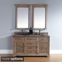 Shop for James Martin Savannah 60-inch Double Bath Vanity Cabinet. Get free delivery at Overstock.com - Your Online Furniture Outlet Store! Get 5% in rewards with Club O! - 17299023