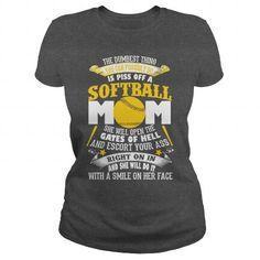 SOFTBALL MOM T Shirts, Hoodies, Sweatshirts. BUY NOW ==► https://www.sunfrog.com/Sports/SOFTBALL-MOM-T-SHIRT-134004378-Dark-Grey-Ladies.html?41382
