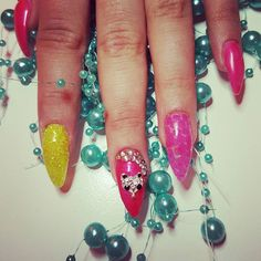 #shellac #shellacnails #schellack #hybryda... - Acrylic Nails