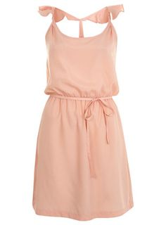 Ruffle Strap Sun Dress - so classy and sweet