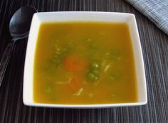 Juliana soup | Food From Portugal. Typical Portuguese soup, with excellent presentation very simple to prepare, confectioned with potatoes, carrots, leeks, turnips, peas and savoy cabbage, seasoned with olive oil and salt. http://www.foodfromportugal.com/recipe/juliana-soup/