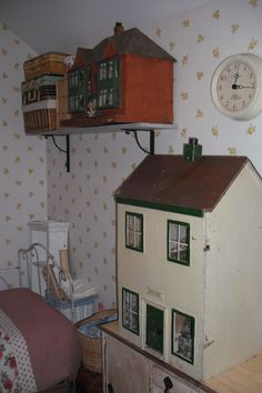 Dolls houses waiting for TLC!