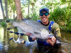 Jimmy with a nice jungle perch caught on Platypus P8 braid!  P8 is made using 8 strand construction, making it one of the thinnest, strongest, and roundest braids on the market.