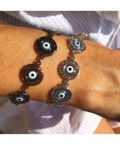 pulseiras de olho grego semi joias