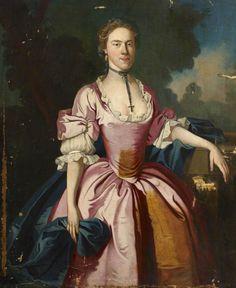 Portrait of an Unknown Georgian Lady - lw_kcls_l5_large.jpg (772×944)