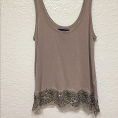 American Eagle Embellished Tank beautiful embellished sequin tanks. Like new American Eagle Outfitters Tops Tank Tops