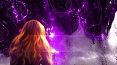 Witch Aesthetic, Purple Aesthetic, Aesthetic Photo, Aesthetic Pictures, Poder Marvel, Witch Powers, Video Romance, Marvel Gif, Superhero Names