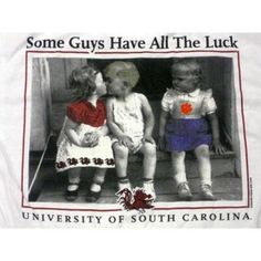 New World Graphics® University of South Carolina T-Shirt-White