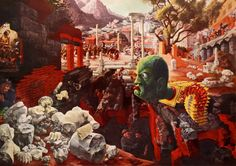 The Eternal City - Peter Blume (1934-37)