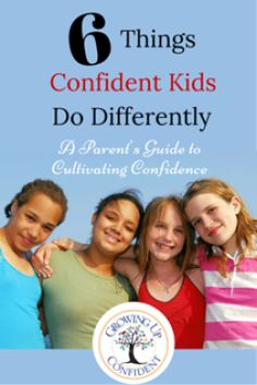 Downloadable Guide to grow your child's confidence.