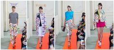 Spring florals by Eudon Choi for S/S 2014 | Fash Mob