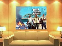 GTA V Accessories: Huge GTA V Poster