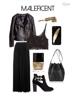 Outfit Inspiration: Maleficent + Aurora >> I would totally wear this @kyle fischer  what do you think?