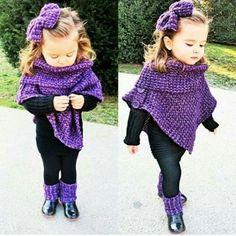 Cute crochet for cute girl