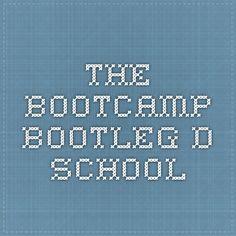 The Bootcamp Bootleg - D.school