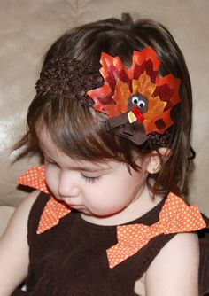 Baby Toddler Girls Boutique Thanksgiving by SweetLovelyCreations, $11.99