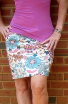 EVERYDAY SEW, JEWELRY AND CRAFTS: ΑΠΛΗ ΦΟΥΣΤΑ ΣΕ 15 ΛΕΠΤΑ Skirt Patterns Sewing, Sewing Patterns Free, Free Sewing, Clothing Patterns, Skirt Sewing, Coat Patterns, Blouse Patterns, Free Pattern, Skirt Pattern Free