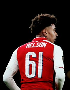 "alexiwobi: """"Reiss Nelson of Arsenal during the UEFA Europa League group H match between Arsenal FC and 1. FC Koeln at Emirates Stadium on September 14, 2017 in London, United Kingdom. "" """