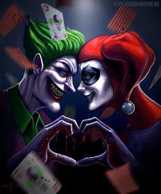Harley Quinn + Joker <3