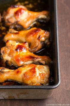 Honey Soy Sauce Chicken #recipe | Easy Japanese Recipes at JustOneCookbook.com