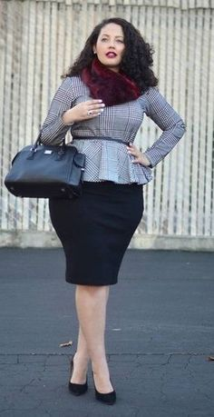 Perfect Plus Size Womens Business Suits: Smart Plus Size Women's ...