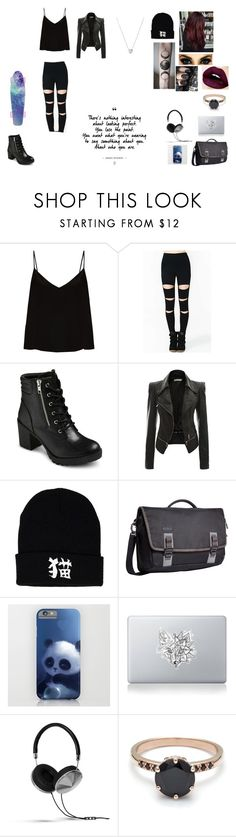 """""""Untitled #70"""" by juliab3638 on Polyvore featuring Raey, EASTON, Mon Cheri, Timbuk2, Vinyl Revolution, Frends and Links of London"""