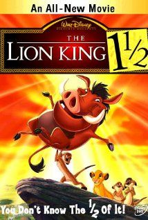 The Lion King 1½ (2004) - sequel