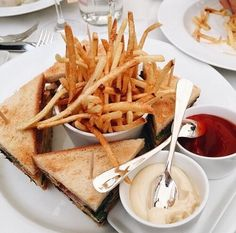 Imagem de food, fries, and sandwich Pinterest @cris_galant ♡